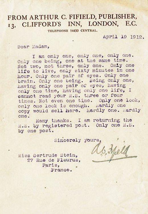 Famous Authors' Harshest Rejection Letters – Flavorwire