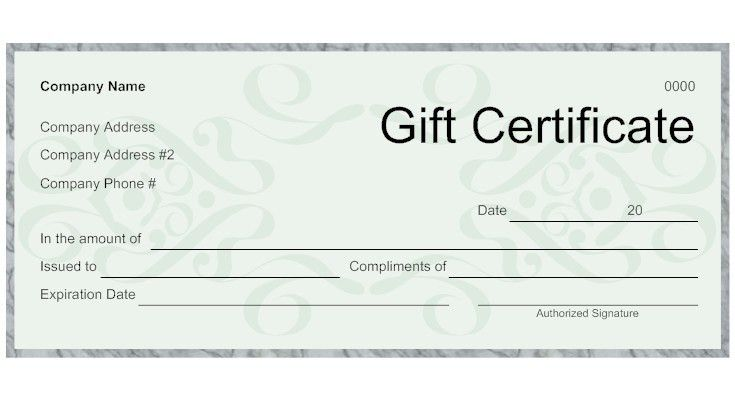 9 Best Images of Make Your Own Gift Certificates - Free Printable ...