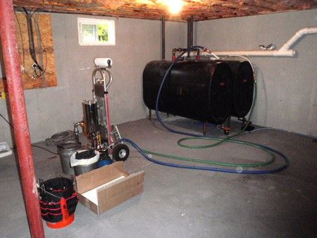 Oil Tank Cleaning | Maine Energy