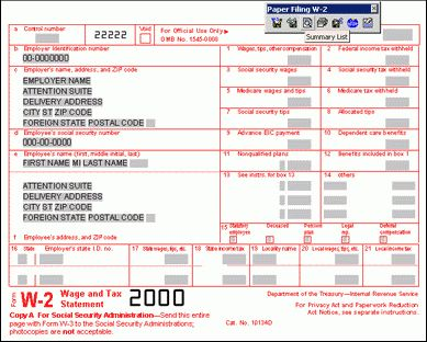 eSmart Payroll Tax Software Filing - efile form 1099 MISC 1099C W2 ...