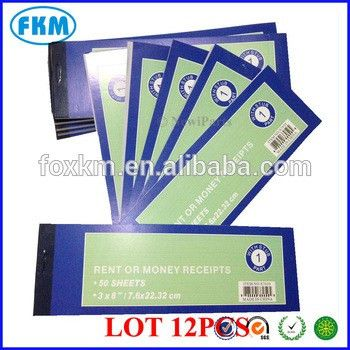 Sales Money Rent Receipt Books Check Cash Form Invoice 50 - Buy ...