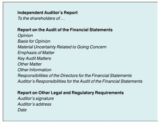 SPECIAL FEATURE: The New Auditor's Report | Accountancy SA