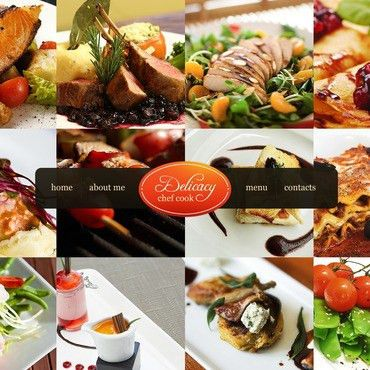Chef Website Templates