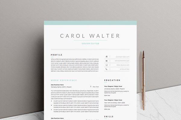 Splendid Design Ideas Resume Design Templates 6 Cv Template ...