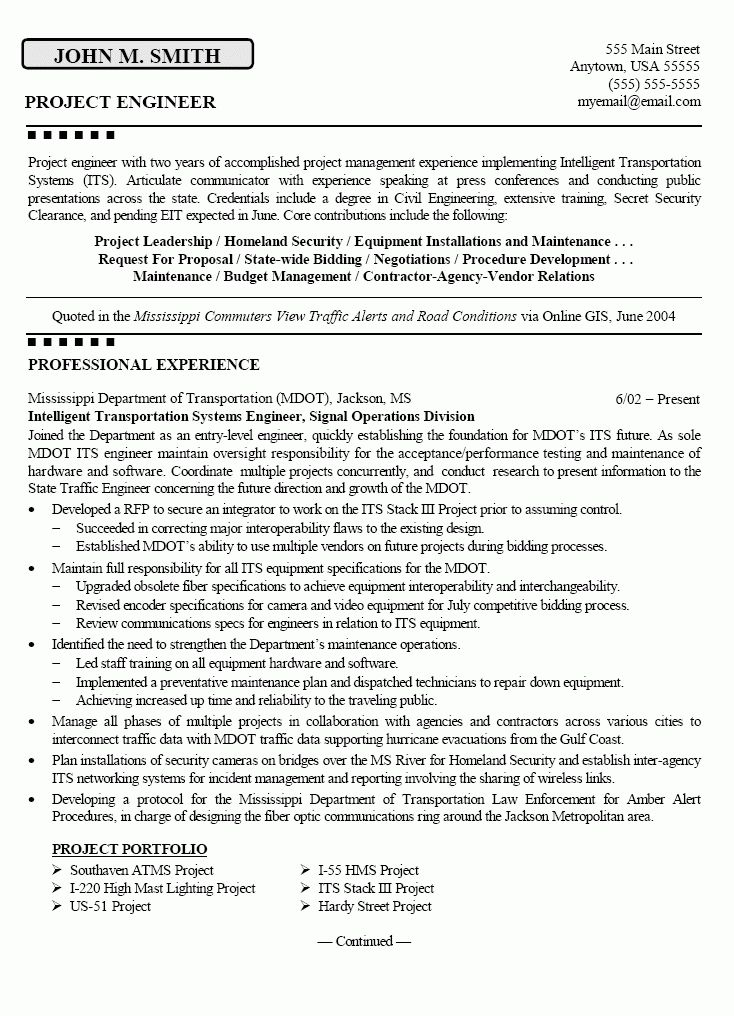 Pilot Resume Template - uxhandy.com