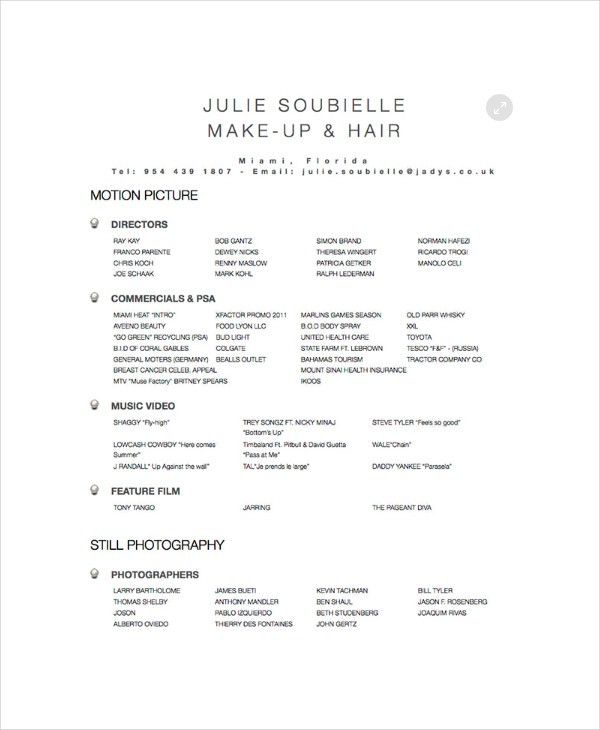 Hairstylist Resume Examples. Journeyman Electrician Resume ...