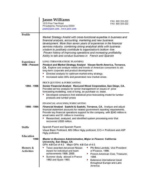 Free Templates For Resumes. Resumeway Template Resume Template Top ...