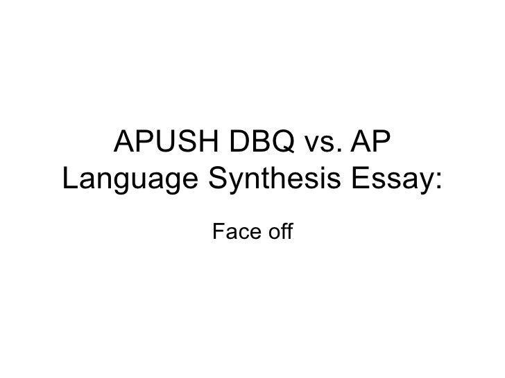 Synthesis vs. dbq