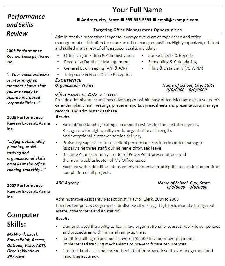 Microsoft Office Resume Template 13 Templates Online Professional ...