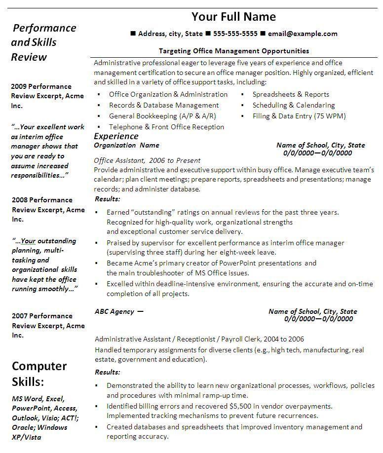 Microsoft Office Resume Template - uxhandy.com