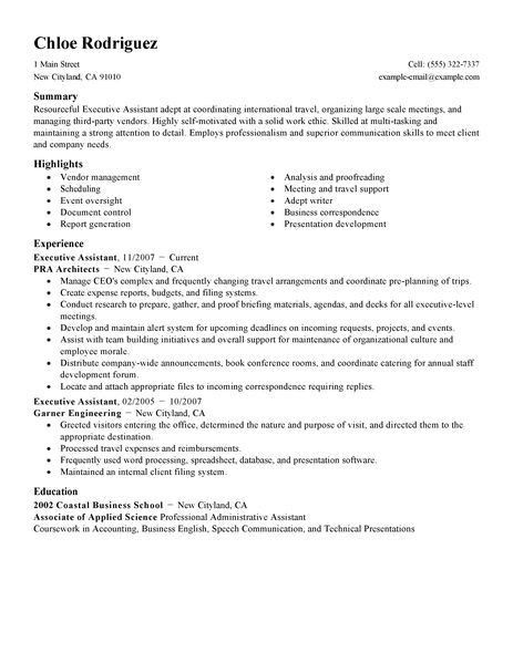 Administrative Assistant Resume Template. Office Clerk Resume ...
