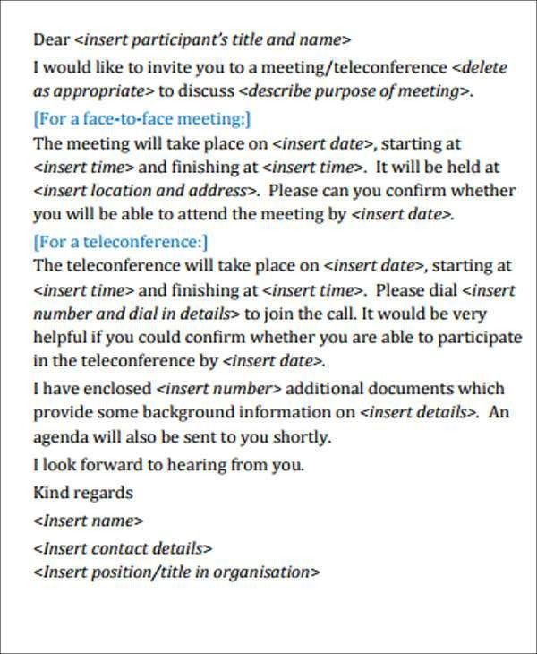 business invitation for a meeting : Cogimbo.us