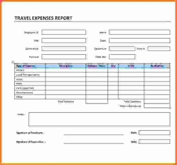 Travel Expense Report.Travel Expenses Report Template.png - Sales ...