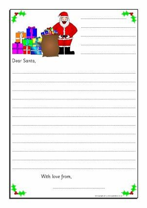 Christmas Writing Frames and Printable Page Borders KS1 & KS2 ...