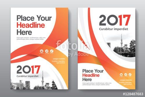 Orange Color Scheme with City Background Business Book Cover ...