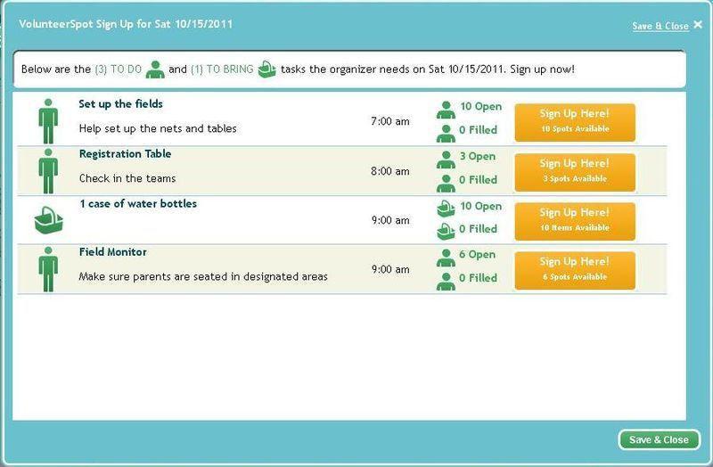 Online SignUp Blog by SignUp.com: Sign Up Sheet Saturdays