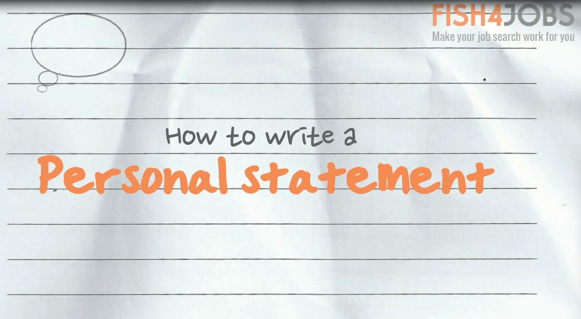 How to Write a Personal Statement - Career Advice & Expert ...