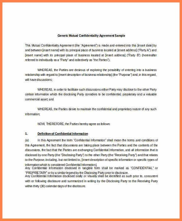 Mutual Agreement Sample   Jobs.billybullock.us