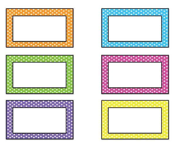free name tag templates kindergarten | Come back tomorrow for name ...
