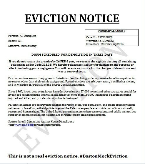 Printable Sample Eviction Notices Form | Real Estate Forms Word ...