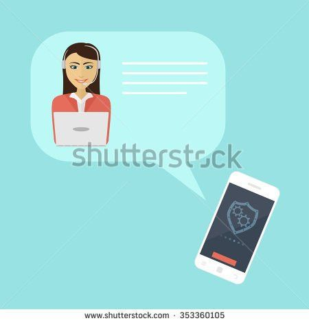 Human Hand Taking Telephone Receiver Flat Stock Vector 227627806 ...