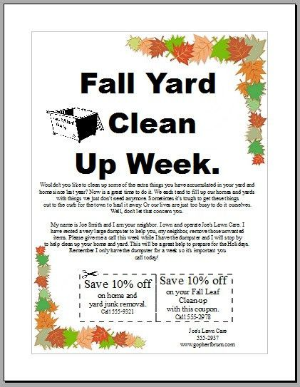 Backyard scaping: Advertising ideas for landscaping business