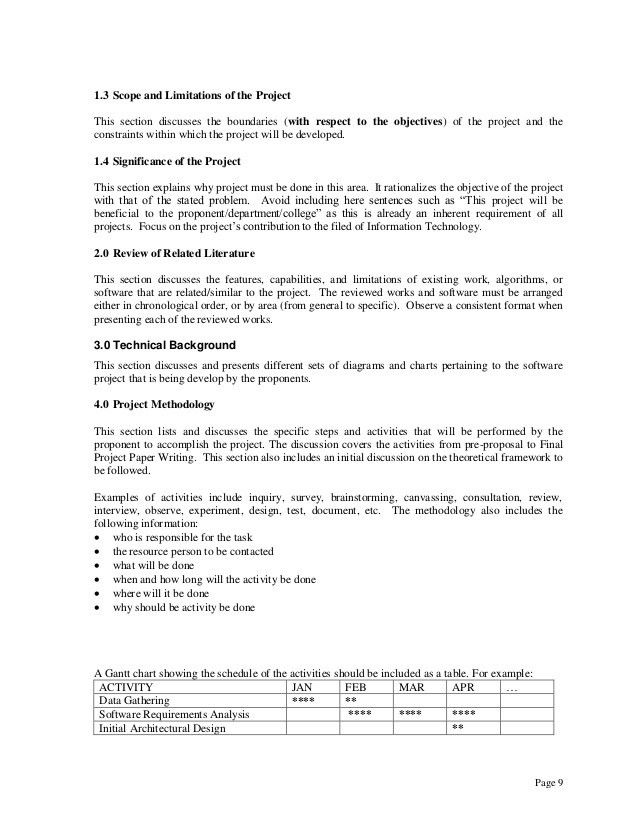BSCS   BSIT Thesis Guidelines
