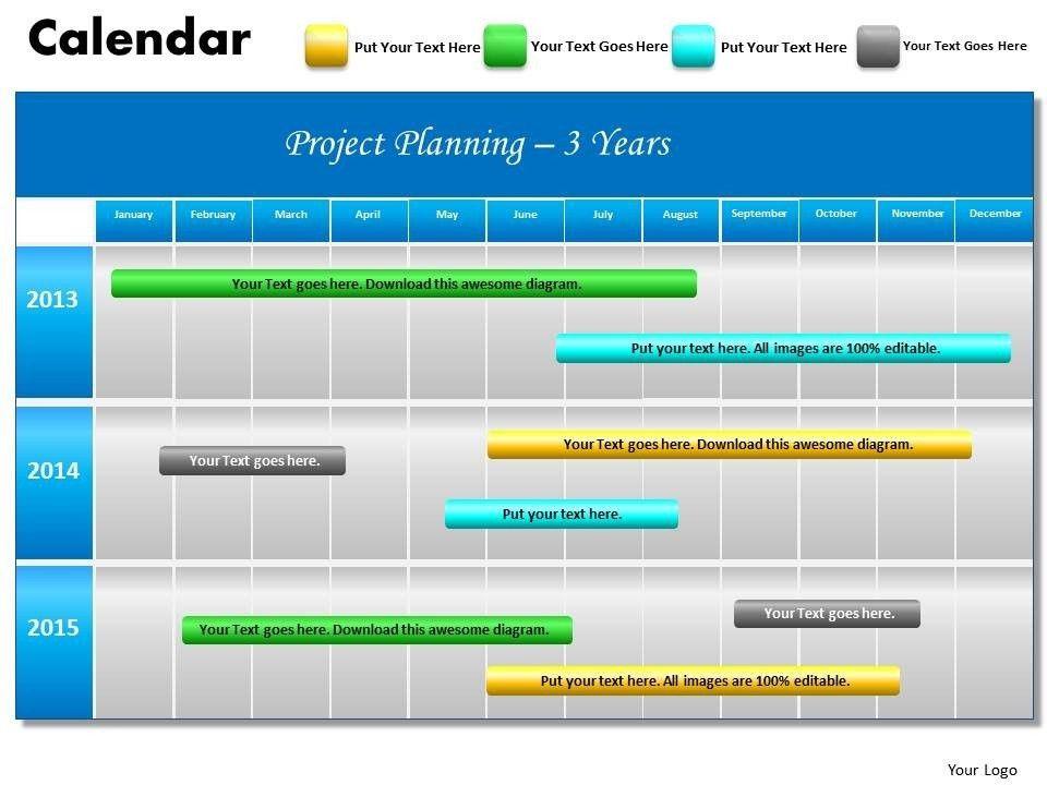 2013 calendar powerpoint template calendars powerpoint templates ...