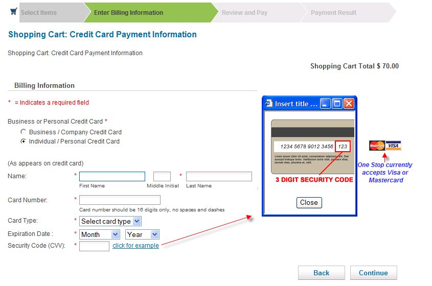 Business - Shopping Cart-Credit Card