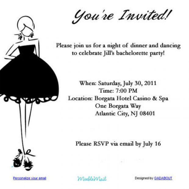 Email Party Invitations | badbrya.com
