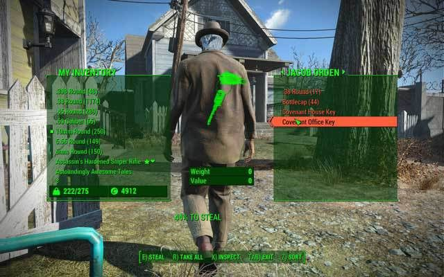 Sneaking up and pickpocketing - Fallout 4 Game Guide & Walkthrough ...