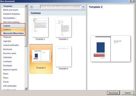 Deploy custom templates in Microsoft Office. – Microsoft Office ...