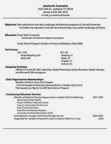 making a professional resume – Resume Template For Free