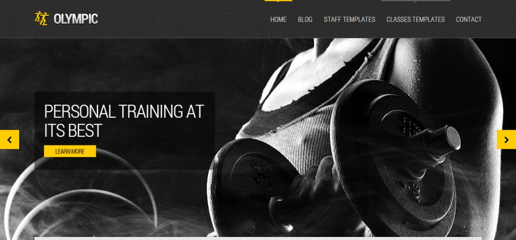 66 Best Sport and Fitness HTML Templates | Weelii
