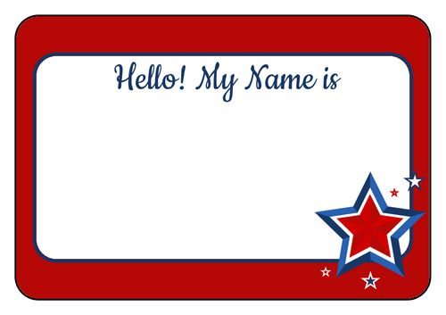 4th of July Labels - Download Independence Day Label Designs