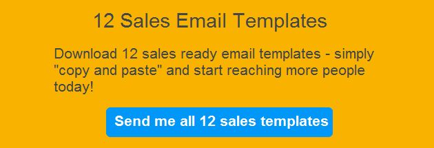 12 Sales Email Templates Proven to Increase Response Rates