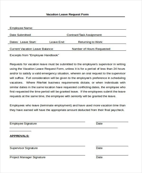 Leave Application. School Application Format For Leave Nanny ...