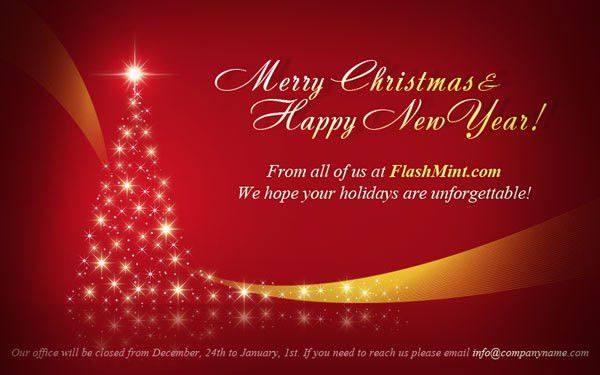 Christmas Card Email Template. get email greeting christmas cards ...