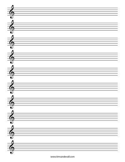 Music Paper Template. Music Page Borders - Music, Page Border, A4 ...