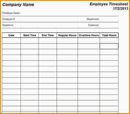 12+ employee timesheets template | paradochart