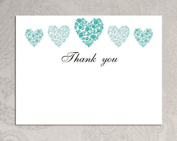 Thank You Card Templates | The Cfaes Brand. Items Similar To Thank ...
