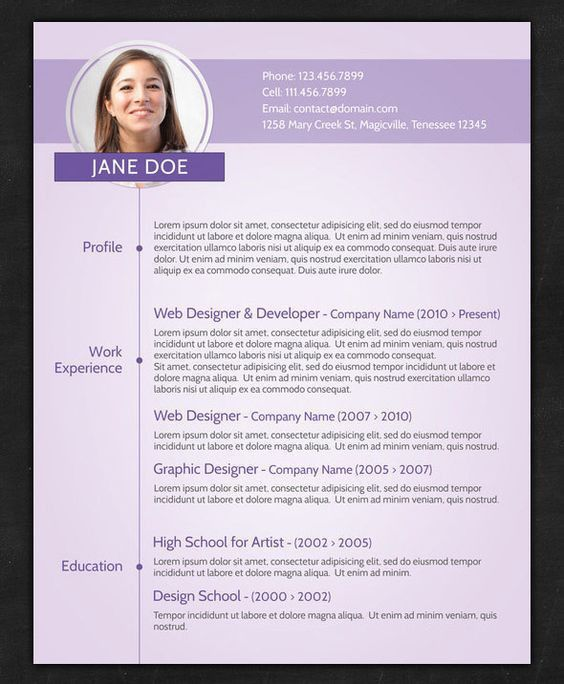Google Drive Resume Templates - http://www.jobresume.website ...