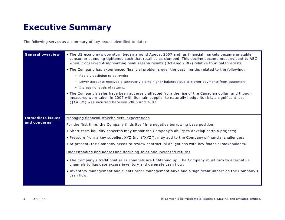 executive summary powerpoint template executive summary template ...
