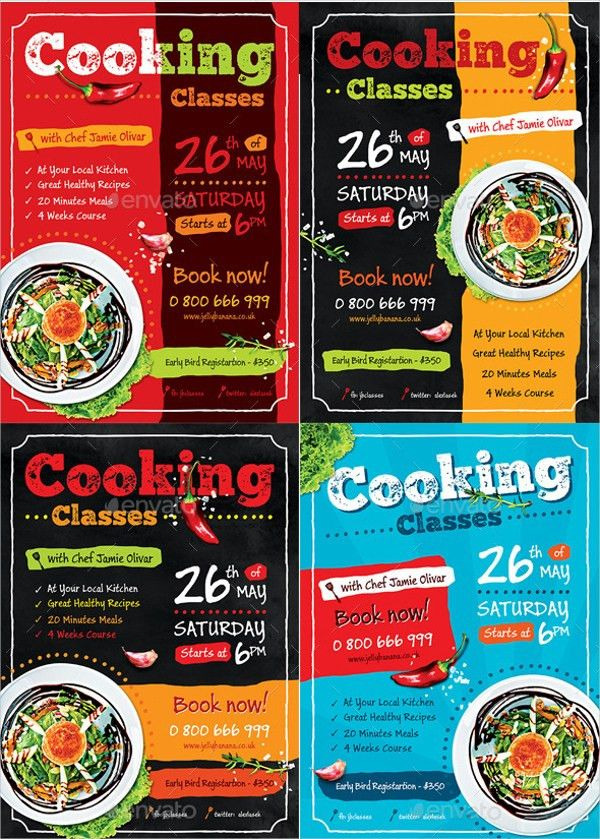 13+ Cooking Flyer Templates - Free PSD, AI, EPS Format Download ...