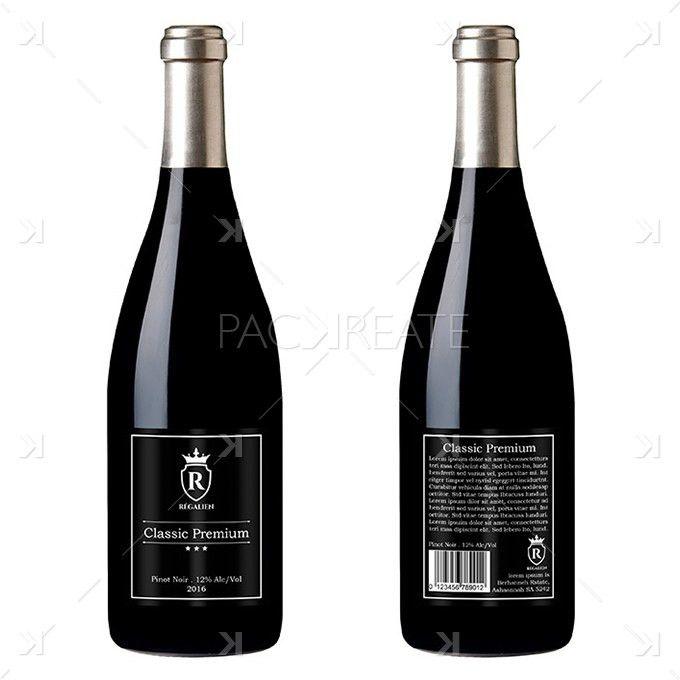 Wine Label Design Templates