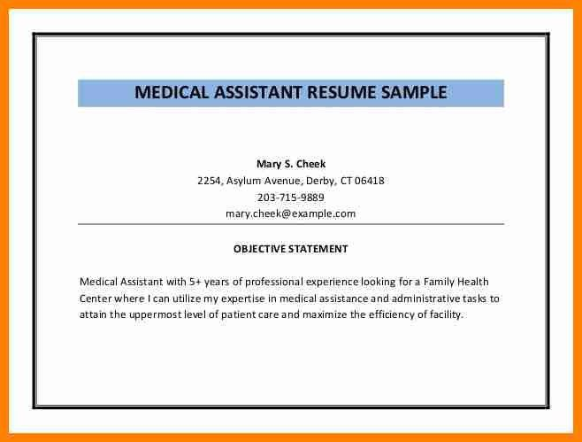 4+ resume objectives for medical assistant | forklift resume