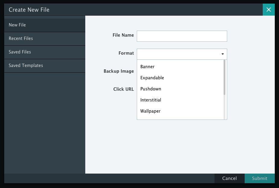 New File / Template Manager – Knowledge Base