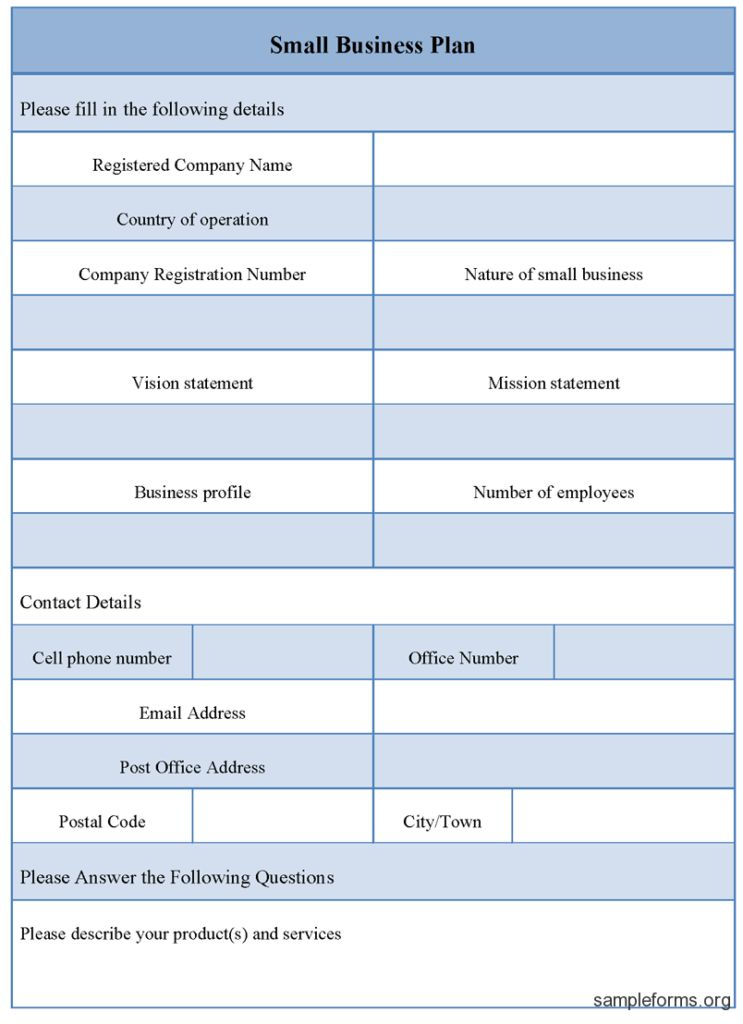 Small business Strategy Templates | New Business Plan Templates