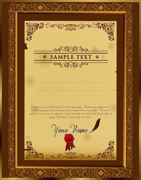 Exquisite Certificate cover templates vector set 02 - Vector Cover ...