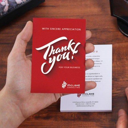 Custom Thank You Cards | UPrinting.com